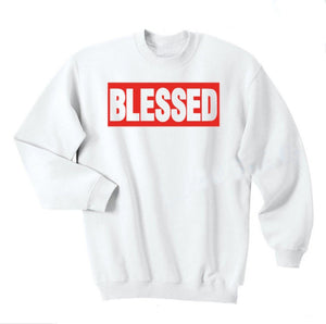 Christian God BLESSED Hoodies