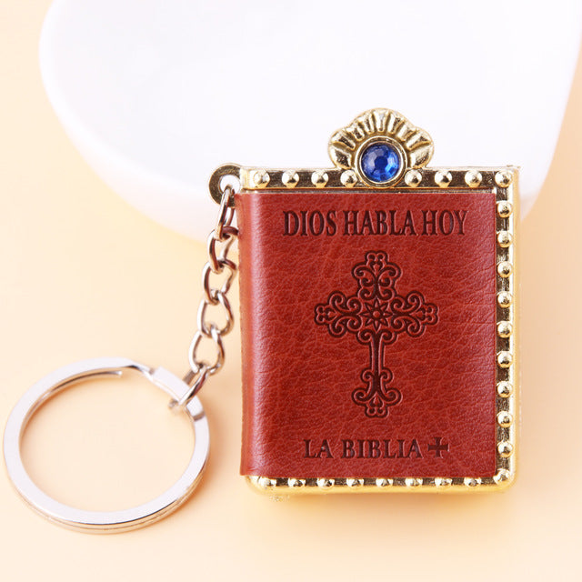 Holy Bible Key Chain