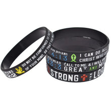 Load image into Gallery viewer, Bible Verse Wristband