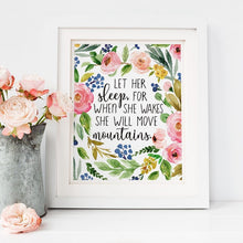 Load image into Gallery viewer, Floral Posters Watercolor Art