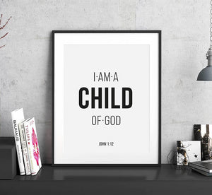 Bible Verse Poster and Print