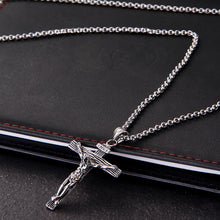 Load image into Gallery viewer, Men Chain Christian Necklace