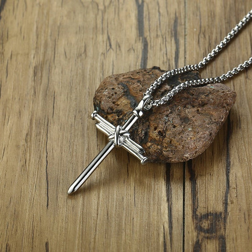 Men Chain Christian Necklace