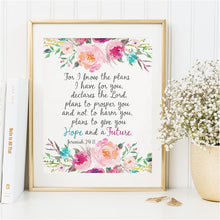 Load image into Gallery viewer, Scripture Christian Wall Art