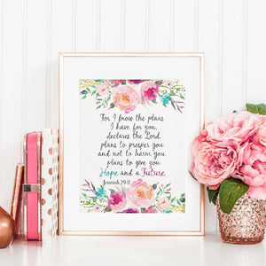 Scripture Christian Wall Art