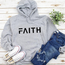 Load image into Gallery viewer, Faith Letter Hoodie