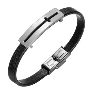 Leather Bracelet For Men Christian