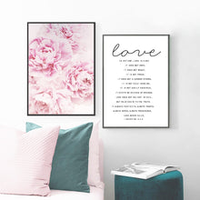 Load image into Gallery viewer, Bible Verse Wall Art Canvas