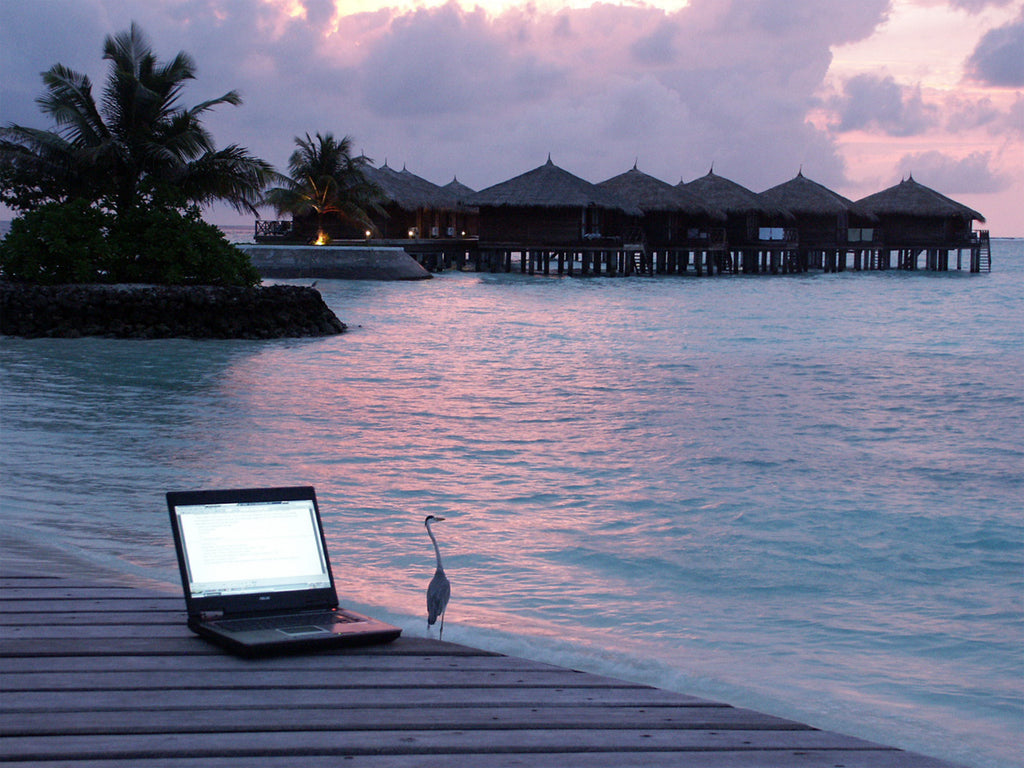 mahabis lifestyle // remote working from silicon bali