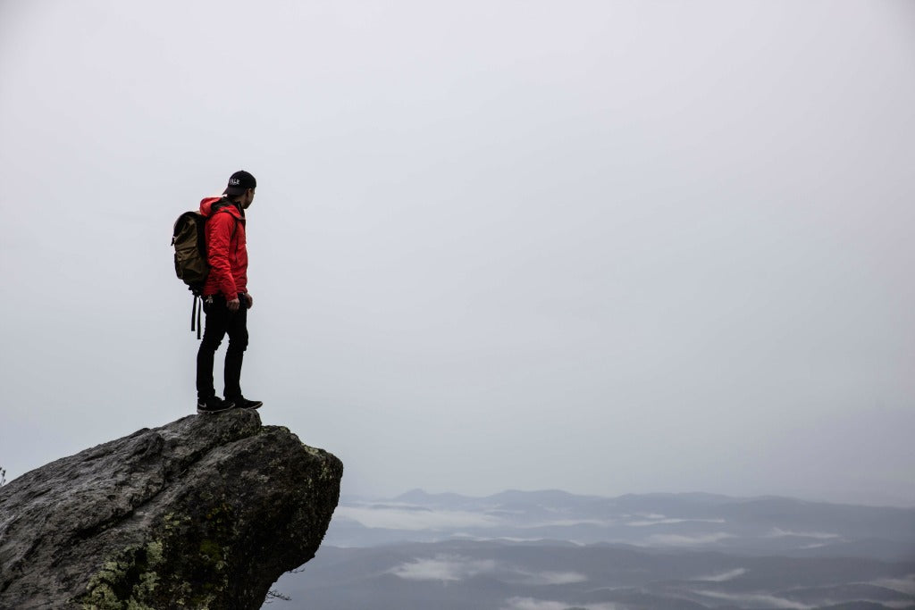 the calming effects of hiking // mahabis journal