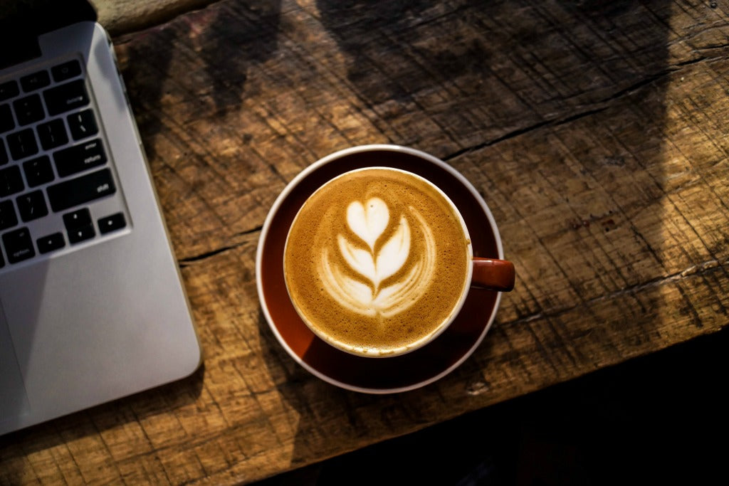 coffee and laptop // mahabis journal