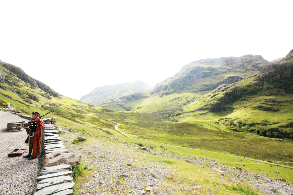 bagpiper in glencoe // mahabis journal