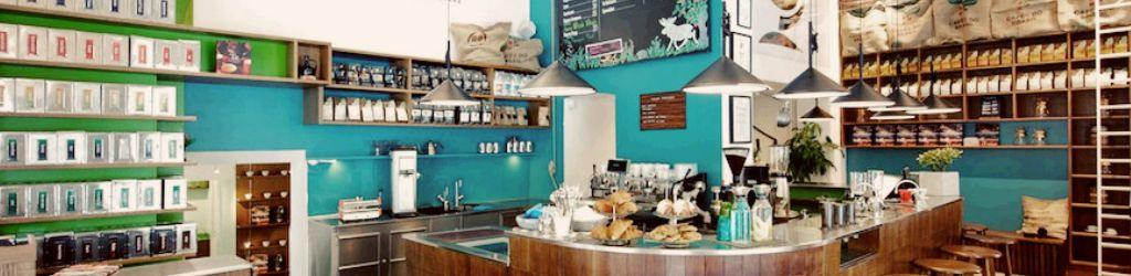 their slow roasted coffee can be enjoyed in this bright and vibrant space or you also book onto one of their many training courses to discover yourself how