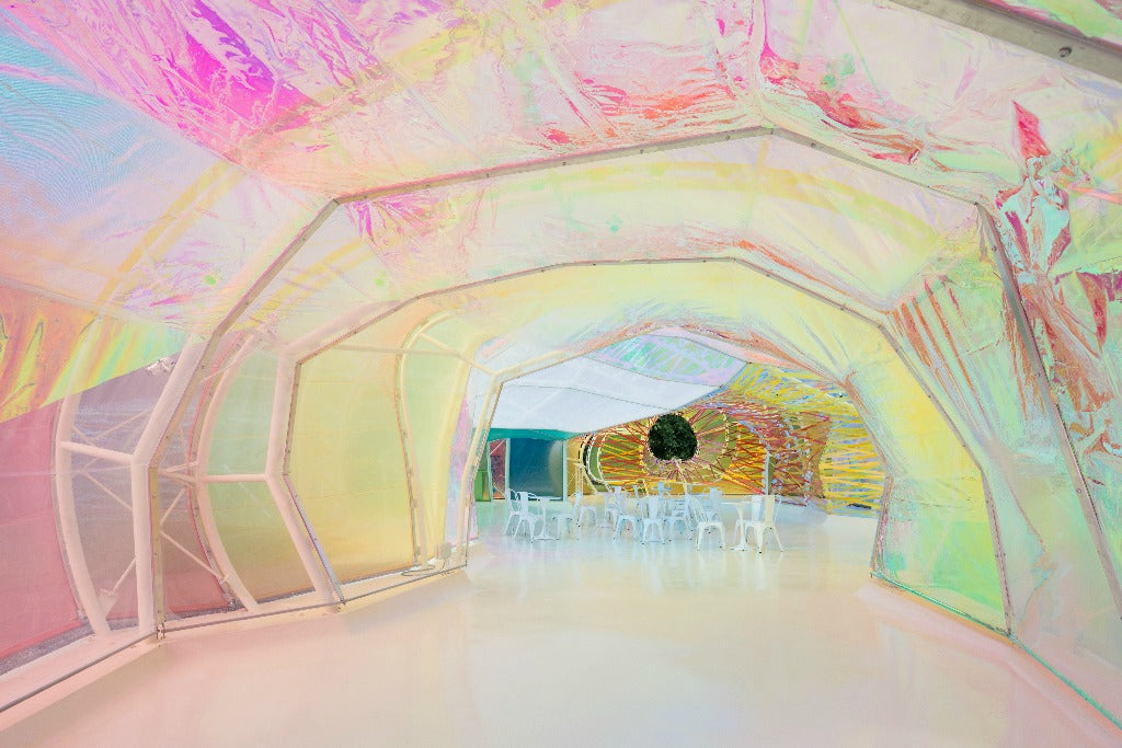 interior of the serpentine pavilion   2015 // mahabis journal