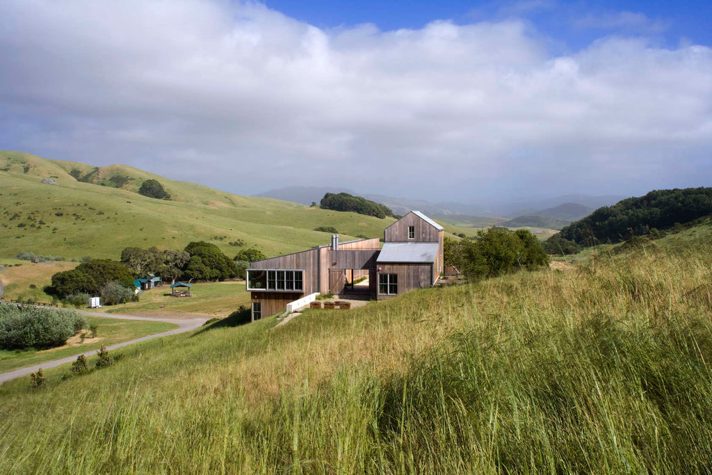 mahabis architecture sustainable luxury in a californian ranch