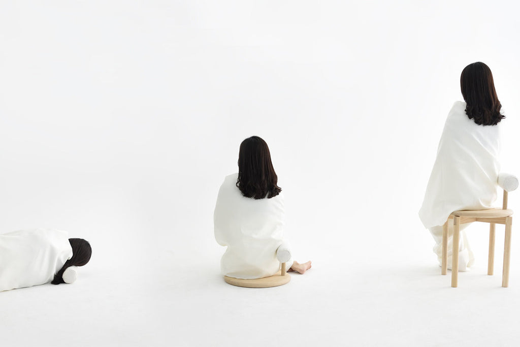 minimalist seating series