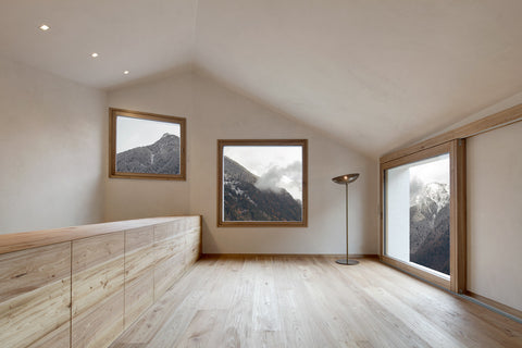 mahabis architecture german mountain house by pedevilla architects