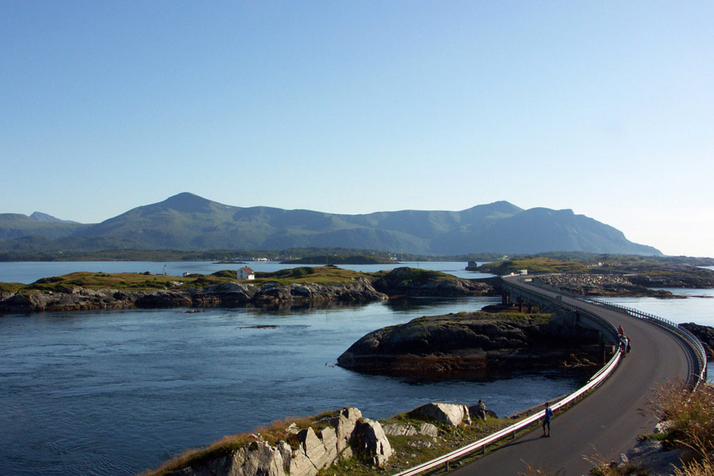 a slow road trip down // norway's atlantic road