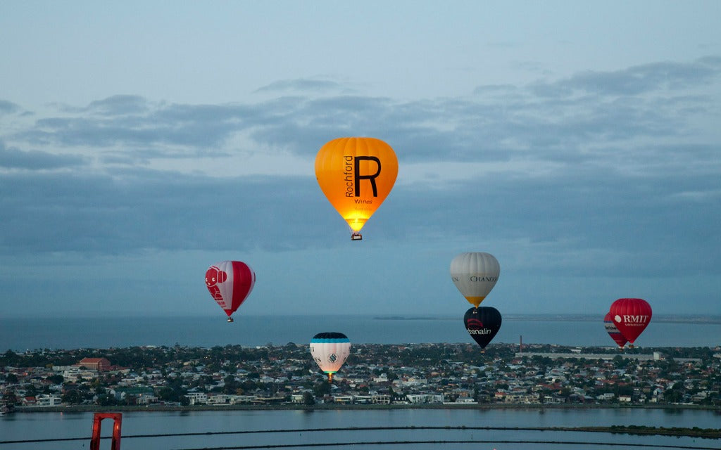 hot air balloons over melbourne // mahabis journal