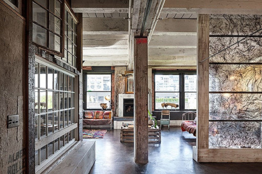 Mahabis interior design new york loft living the wabi for New york loft apartments