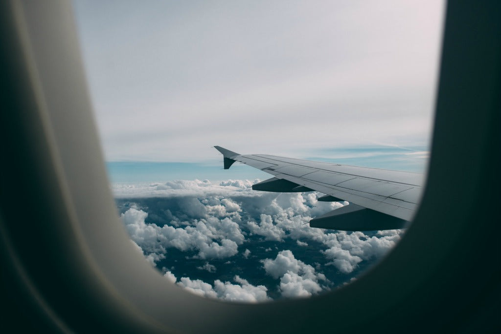 plane window // mahabis journal