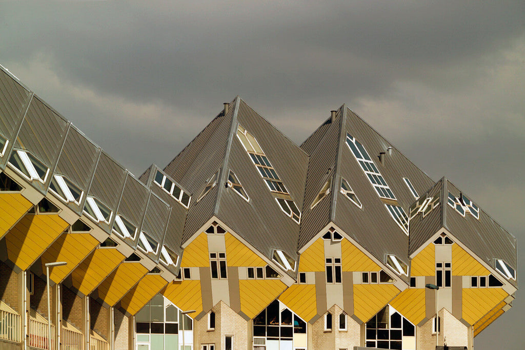 rotterdam cube houses // mahabis journal