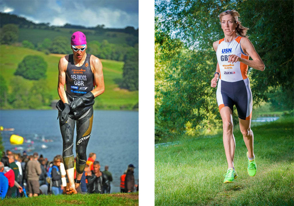 2caa4d58 So we spoke to this uber-active husband and wife about the mental and  physical toil of their triathlons, and whether they ever have time to relax!