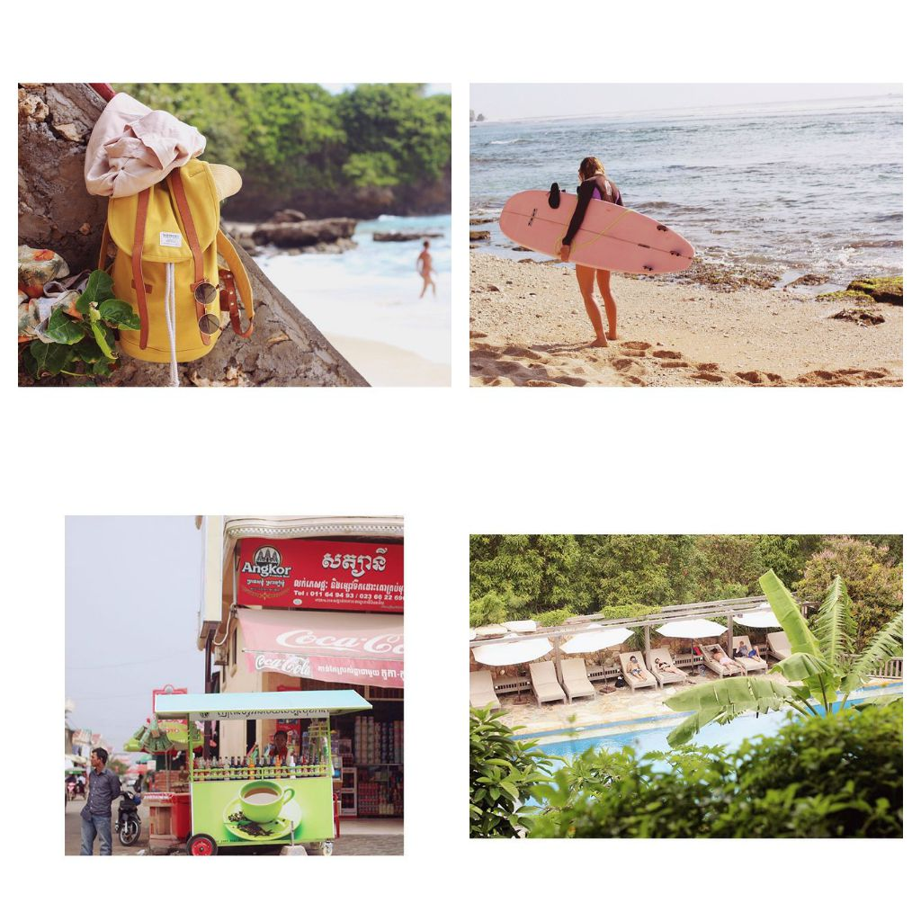 her feed ranges from showing us the best yoga studios in ubud and seafood shacks in cambodia to her favourite bars in paris and allotments in berlin