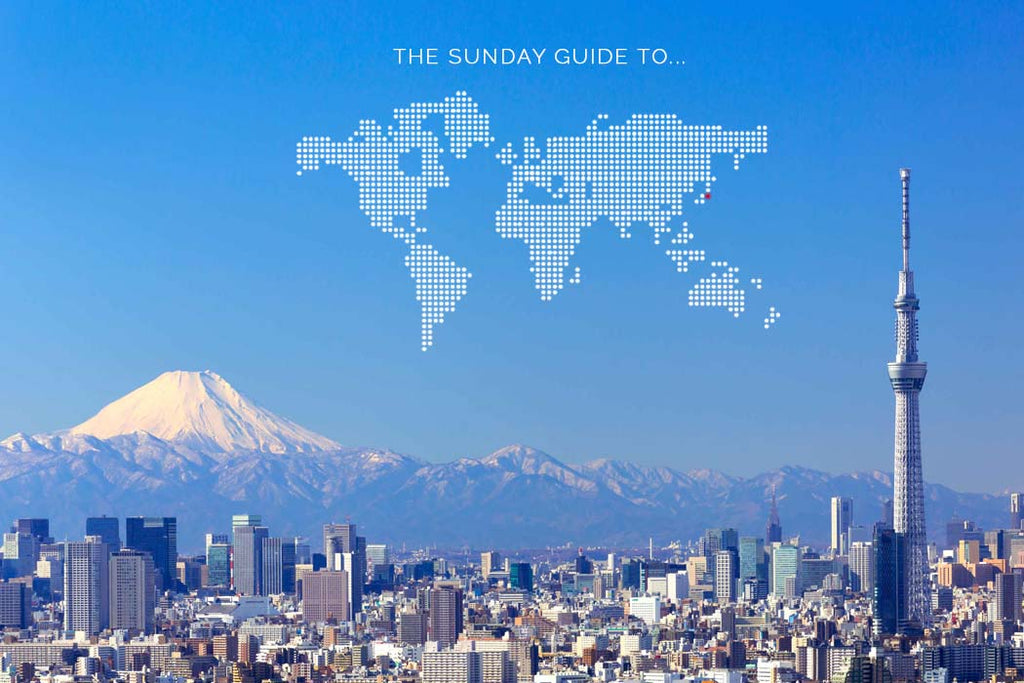 mahabis journal // sunday guide to tokyo