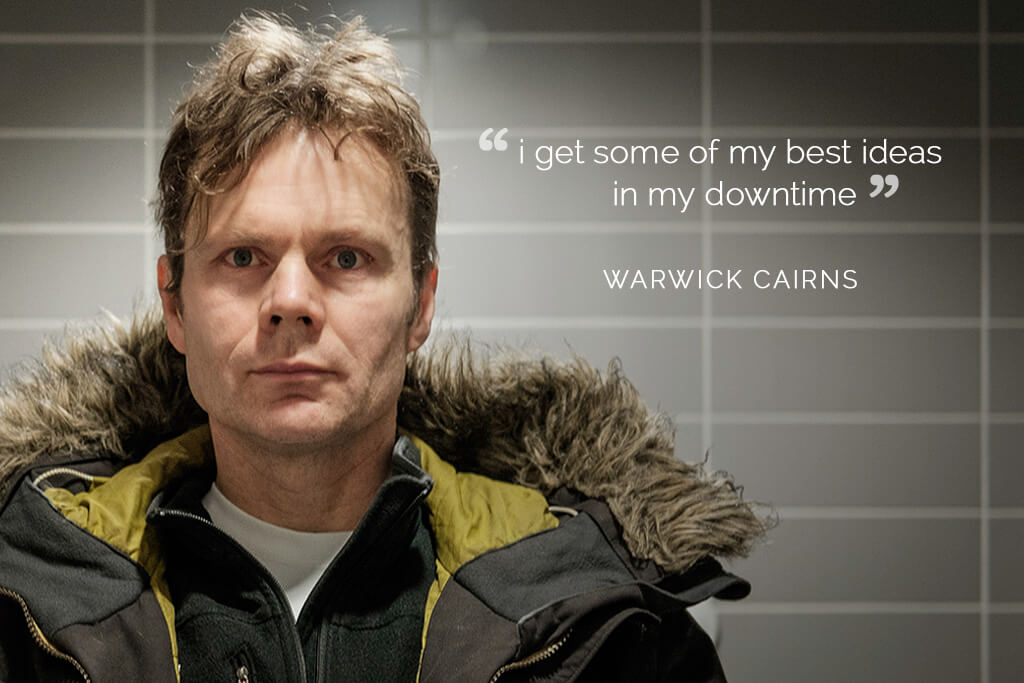 mahabis interviews // warwick cairns