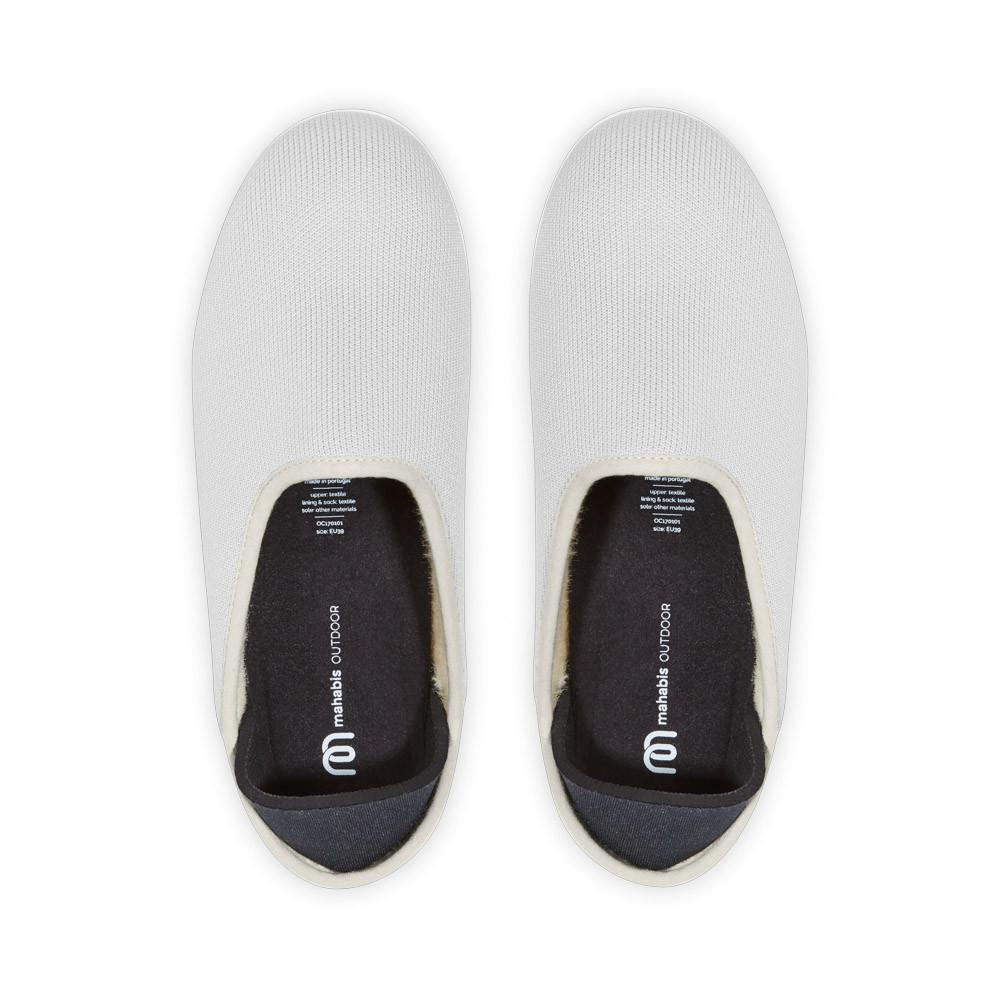 Koge Grey Mahabis Canvas Slipper