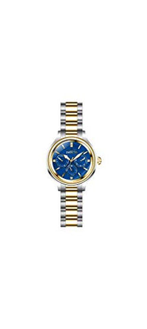 Invicta Women's 28738 Angel Quartz 3 Hand Blue Dial Watch