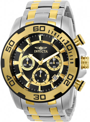 Invicta Men's 22322 Pro Diver Quartz Chronograph Black Dial Watch