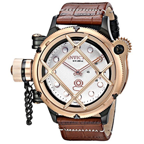 Invicta 16361 Men's Russian Diver Analog Mechanical Hand Wind Two Tone Watch