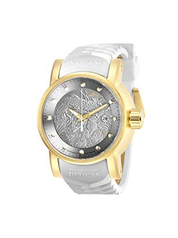 Invicta Men's 28181 S1 Rally Automatic 3 Hand Silver Dial Watch