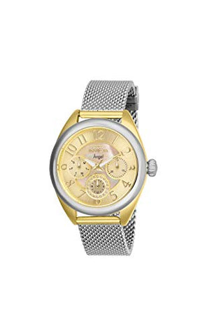 Invicta Women's 27451 Angel Quartz Chronograph Gold Dial Watch