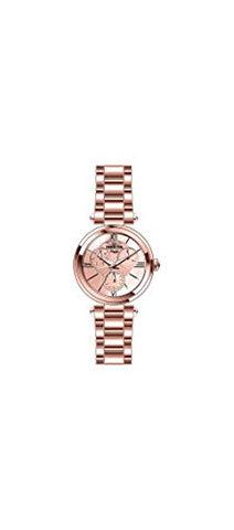 Invicta Women's 28928 Angel Quartz 3 Hand Rose Gold Dial Watch