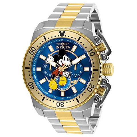 Invicta Men's 27289 Disney  Quartz Chronograph Blue Dial Watch