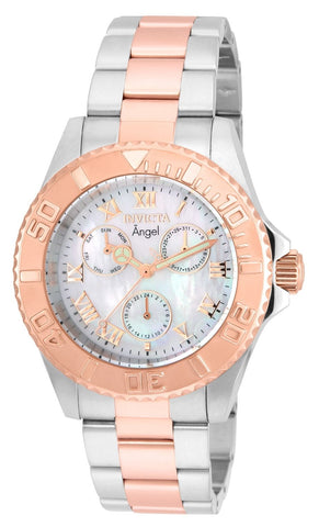 Invicta Ladys 17527 Angel Silver Dial New Stainless Steel Watch
