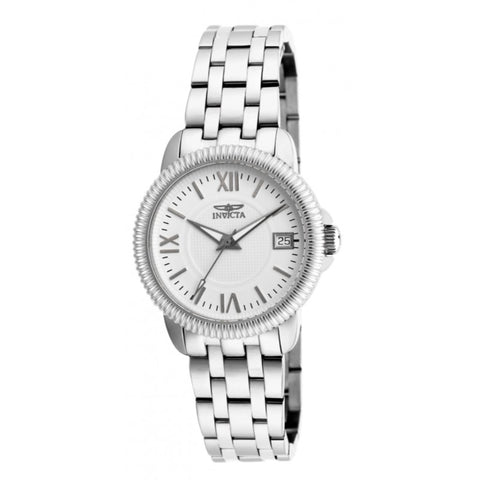 Invicta 18068 Women's Specialty Analog Display Swiss Quartz Silver Watch