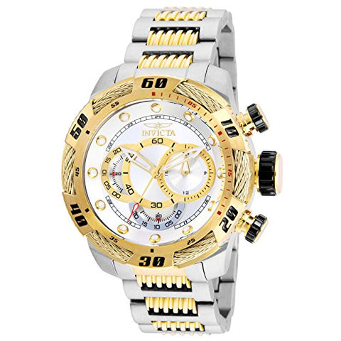 Invicta Men's 25480 Speedway Quartz Multifunction Silver Dial Watch