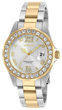 Invicta Women's 20215 Pro Diver Quartz 3 Hand Silver Dial Watch