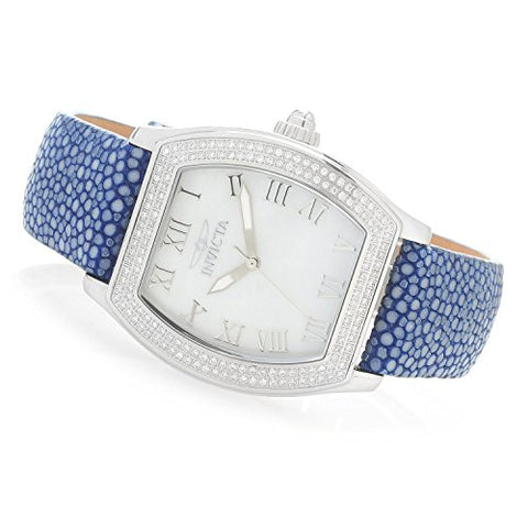 Invicta Women's Elite Diamond Collection Quartz 0.67ctw Diamond Stingray Strap Watch 22681