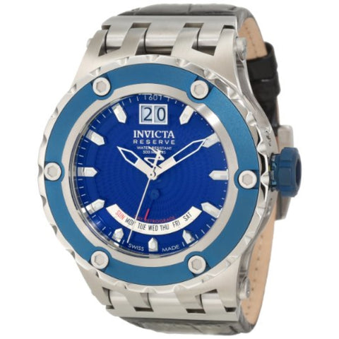 Invicta Men's 10100 Subaqua Reserve Royal Blue Textured Dial Watch [Watch] In...