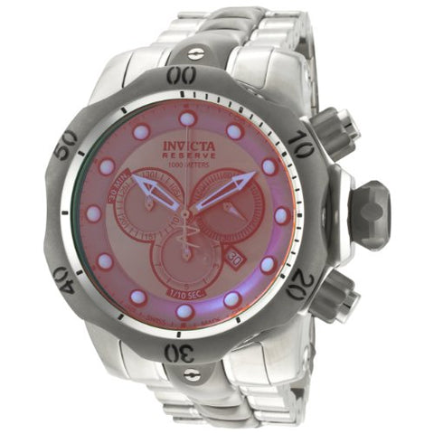 Invicta Men's 0967 Venom Quartz Titanium Dial Watch