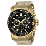 Invicta Men's 23650 Pro Diver Quartz Chronograph Black Dial Watch