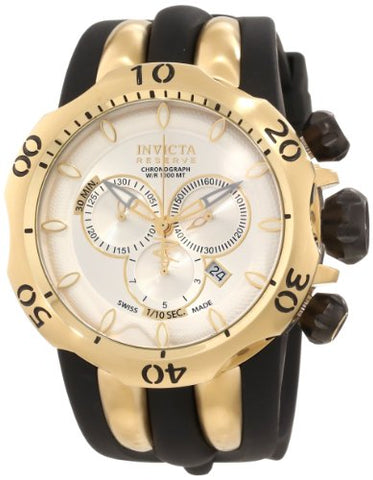 Invicta 10834 Men's Venom Reserve Chronograph Silver Dial Watch