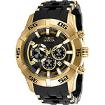 Invicta Men's 26535 Sea Spider Quartz Chronograph Charcoal Dial Watch