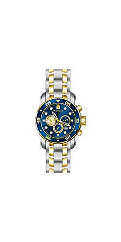 Invicta Men's 28718 Pro Diver Quartz Chronograph Blue Dial Watch