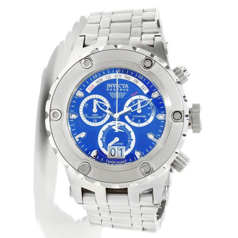 Invicta Men's 1564 Subaqua Quartz Chronograph Blue Dial Watch